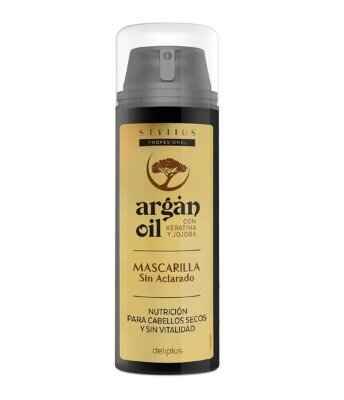 Восстанавливающая маска для волос с маслом арганы Deliplus Mascarilla Argan Oil 150 мл